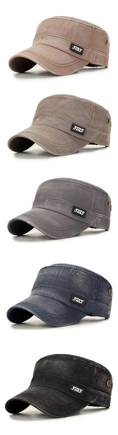 ced90b97acd3da Mens Cotton Outdoors Sunshade Flat Cap Fashion Letter Hat Winter Windproof  Duck Hat is hot sale on Newchic.