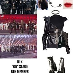 Kpop Fashion Outfits, Edgy Outfits, Korean Outfits, Girl Outfits, Cute Outfits, Other Outfits, Stage Outfits, Dance Outfits, Bts Girl