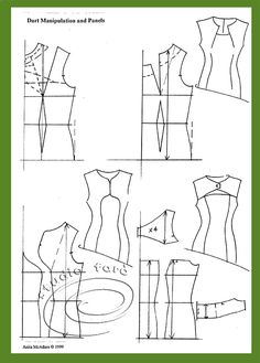 Necklines, Sleeves, Darts and Panels SAT 20 Aug http://www.studiofaro.com/book-introductory-workshops #PatternMakingClasses #Sydney