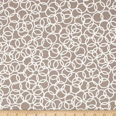 Wishing Well Ring Around Tan from @fabricdotcom  Designed by Jenean Morrison for Westminster Fabrics, this fabric is perfect for quilting, apparel and home décor accents. Colors include ivory and umber.