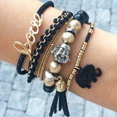 Cute Arrangement of Bracelets