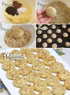 Tea Nescafeli Cookie Recipe, How To? – Womanly Recipes – Famous Last Words Candy Cookies, Sweet Cookies, Turkey Cake, Cake Bars, Turkish Recipes, How To Eat Less, Macaroons, Cookie Recipes, Biscotti