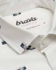 Capa's Camera printed shirt