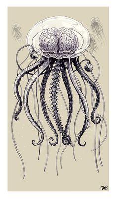The Jellybrainfish by ~TmoeGee