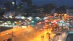 Los periodistas de la cadena CNN en Chile han sido sorprendidos por un potente terremoto de magnitud 8,3 mientras trabajaban en directo.