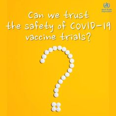 Dr Kate O'Brien explains why we can trust the safety of #COVID19 vaccines trials Investigatory Project, World Organizations, Funny Disney Jokes, International Health, Explanation Text, Good Student, How To Protect Yourself, Explain Why, Health Advice