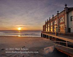 Ocean City, NJ Art Photograph Print - Music Pier Sunrise - Fine Art Photography by Matt Schrier
