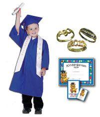 Adorable kindergarten graduation cap, gown, tassel set, great ...