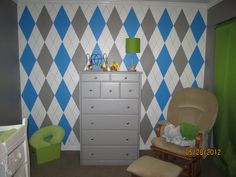 Oakley's room is getting close to finished!