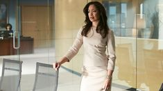 """Jessica Pearson (Gina Torres) in season 4, episode 1 of Suits, """"One-Two-Three Go..."""""""