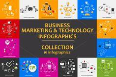 16 sticker infographics by Palau on Creative Market