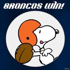 Broncos win! #SuperBowl