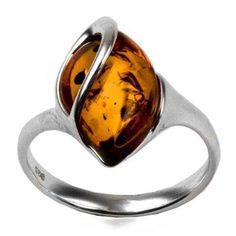 I found 'Natural Light Honey Color Amber Sterling Silver Marquis Cut Ring' on Wish, check it out!