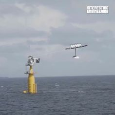 This offshore energy kite has the potential to bring power to hundreds of millions. Via: Makani 143 comments on LinkedIn Green Business, Kite, Cn Tower, Wind Turbine, Engineering, Activities, Building, Dragons, Buildings
