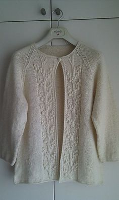 Ravelry  liyenyk's Bobble-Vine Jacket - free knitting pattern