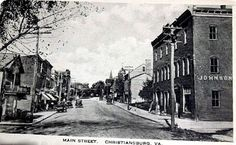 Main Street in the 20s