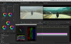 The Color Correction Workspace inside the Adobe Premiere Pro CC update. #filmmaking #NAB