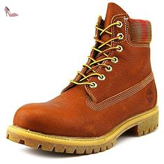 Timberland 6 In Premium Boot Medium, Bottes Track homme - Marron - Marrón, 41.5 EU - Chaussures timberland (*Partner-Link)