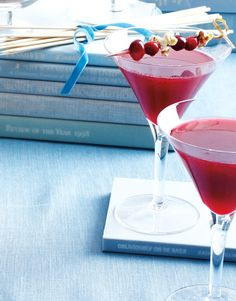 Sip This Cranberry Cocktail Recipe from Mixologist Andrew Noye #InStyle