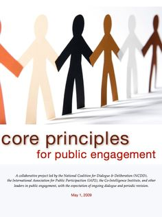 The Public Engagement Principles (PEP) Project was launched in mid-February 2009 to create clarity in our field about what we consider to be the fundamental co… Reading Lists, Problem Solving, Leadership, Core, Public, Product Launch, Community, Engagement Ideas, Feelings