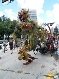 Winners of the 2012 Houston Art Car Parade
