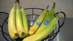 I heard this before but haven't done it yet. If you want to slow down your bananas from ripening, separate them at the stem:) It works!