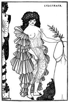 Aubrey Beardsley, Lysistrata. See The Virtual Artist gallery: www.theartistobjective.com/gallery/index:
