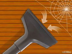 How to Get Rid of Spiders in the House via wikiHow.com