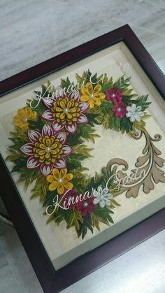Quilled tray..by: Kinnari Gada