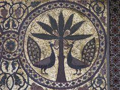Mosaics, Zisa Palace, Palermo