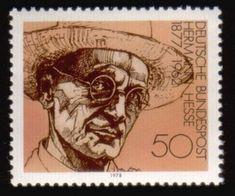 Literary Stamps: Hesse, Herman (1877–1962)