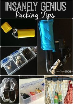 I love how creative and thrifty all of these packing tips are {16k pins}