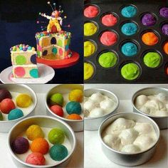 Cakes ideas def going to try this... <3