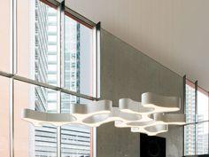 Lámpara colgante AMEBA by Vibia diseño Pete Sans