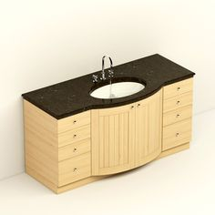 Royal Botania Johnson sink with locker  #models #3dmodeling #modeling #turbosquid #3dartist #viktor_log #design #interior