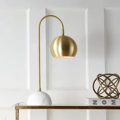 Table Lamps | Find Great Lamps & Lamp Shades Deals Shopping at Overstock Pedestal, Art Deco Stil, Gold Bed, Contemporary Table Lamps, Modern Table, Lamp Shade Store, Task Lamps, Brass Table Lamps, Pendant Lamps