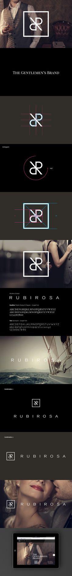 Rubirosa // Branding + Website on Behance