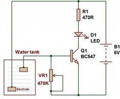 Schematic Diagram for Automatic Street Light using LDR and relay ...