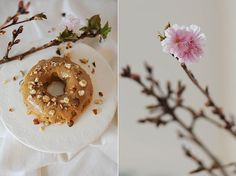 STILCAFE | HASELNUSS-CARAMEL-TÖRTCHEN Doughnut, Desserts, Food, Pies, Tailgate Desserts, Deserts, Essen, Dessert, Yemek