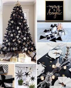 Christmas decor: Contemporary atmosphere and design with black - Xmas - Christmas Christmas Tree Hair, Black Christmas Trees, Christmas 2019, Xmas, Christmas Decorations, Holiday Decor, How Are You Feeling, Seasons, Contemporary Decor