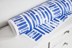 WRAPPING PAPER no.04 - bricks blue Wrapping, Wraps, Personalized Items, Bricks, Paper, Facebook, Blue, Coats, Rap