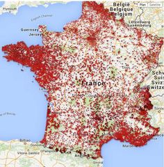 The map above shows the bars which primarily serve alcohol in mainland France. which also sell alcohol across France. United Nations Peacekeeping, Bay Of Biscay, France Map, Information Graphics, Historical Maps, Paris Travel, Holiday Fun, Alcohol, World