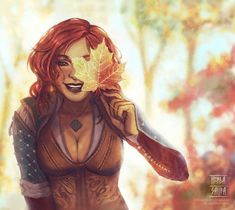 Sunny Triss ☀️ Art by @hindasavra