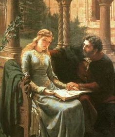 Edmund Blair Leighton - Abelard And Heloise