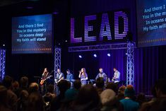 Pixel Words from Word of Life Bible Institute in Schroon Lake, NY   Church Stage Design Ideas