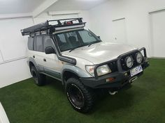 Toyota Land Cruiser Prado, Cars And Motorcycles, Offroad, Ford, Vroom Vroom, The Originals, Truck, Garage, Goals