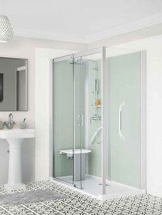 Une douche à l'italienne pour remplacer sa vieille baignoire