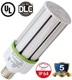 5000K 7540 Lumens 60W LED Corn Light Bulb,400W Equivalent,Large Mogul E39 Base