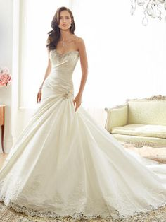 Find Peacock Wedding Dress by Sophia Tolli Available in 61 boutiques in Canada: Bridal Debut Gownhouse (Sherwood Park), Best for Bride : Toronto (North York), Ethos Bridal Boutique (Calgary), Icings Bridal Boutique (Cold Lake), . Peacock Wedding Dresses, Wedding Dresses Photos, Designer Wedding Dresses, Bridal Dresses, Sweetheart Wedding Dress, Mermaid Wedding, Beautiful Gowns, Wedding Stuff, Dream Wedding