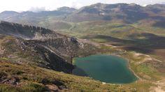 Lago ausente, op hoogte 1742 m, Isoba, León